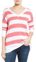 Tommy Bahama Women's 'Pickford' Stripe V-Neck Pullover