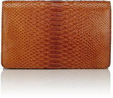 Zagliani Women's Python Duetto Clutch
