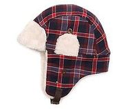 Tommy Hilfiger Big Boy's Plaid Trapper Hat