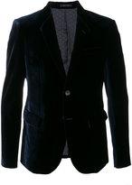 Emporio Armani velvet formal blazer