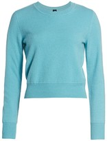 Naadam Crewneck Cashmere Cropped Sweater