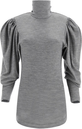 Isabel Marant Gavina Turtleneck T-shirt In Jersey