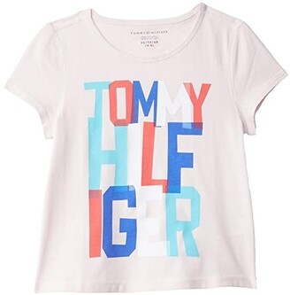 Tommy Hilfiger Adaptive Seuss Sensory Friendly Tagless Tee (Little Kids/Big Kids) (Ballerina) Women's T Shirt