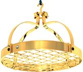 Enclume Dutch Crown Rack with Grid in Gold
