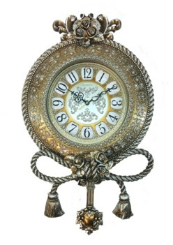 Orient Three Star Ropes and Tassels Wall Clock