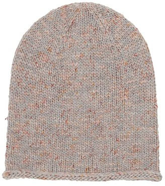 J.Crew Donegal Slouchy Beanie (Heather Cool Ash) Beanies
