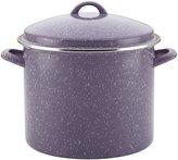 Paula Deen Enamel on Steel Covered Stockpot - Lavender Speckle - 12 QT