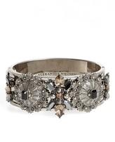 Alexander McQueen Women's Jeweled Hinge Cuff