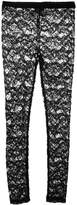 MM6 MAISON MARGIELA floral lace leggings