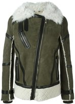 Belstaff 'Boulder' shearling jacket - women - Leather/Sheep Skin/Shearling/Lamb Fur - 40