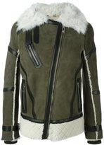 Belstaff 'Boulder' shearling jacket - women - Leather/Sheep Skin/Shearling/Lamb Fur - 42