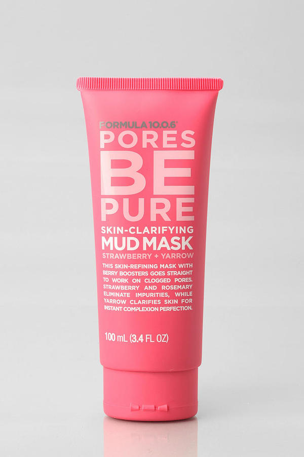 Urban Outfitters Formula 10.0.6 Pores Be Pure Mud Mask