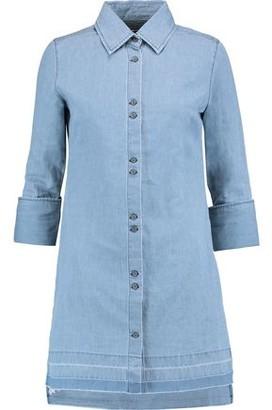 J Brand Bacall Cotton And Linen-blend Mini Dress
