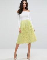 Darling Lace Skater Skirt