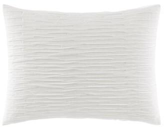 Vera Wang Textured Pleat Lumbar Pillow