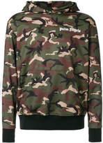 Palm Angels camouflage hoodie