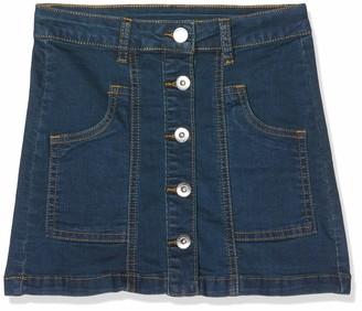 MEK Baby Girls Gonna Denim Stretch Skirt