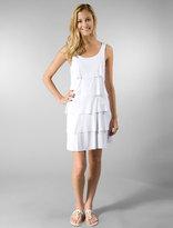 Ripple Effect Dress in White