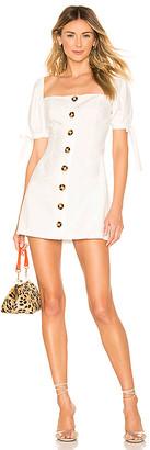 superdown Petra Button Front Dress