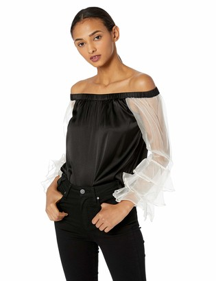 Nicole Miller Women's Off Shoulder top