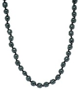 Chanel Blue Pearl Necklace