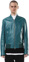 Diesel Black Gold DieselTM Leather jackets BGPRZ - Green - 46
