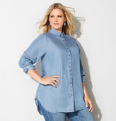 Avenue Grommet Denim Tunic