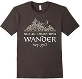 Wanderlust Not All Those Who Wander Are Lost Tshirt