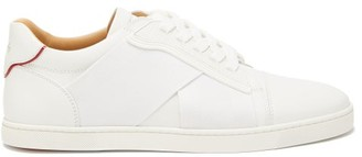 Christian Louboutin Elastikid Donna Leather Trainers - White
