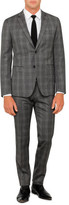 Lab by Pal Zileri Wool Sharkskin Check Suit