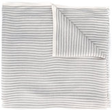 Loro Piana striped scarf - men - Silk/Linen/Flax/Cashmere - One Size