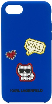 Karl Lagerfeld Paris iPhone 8 pixel cat case