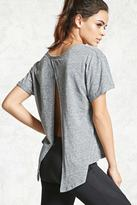 Forever 21 FOREVER 21+ Active Split-Back Top