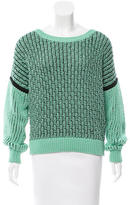 A.L.C. Scoop Neck Knit Sweater