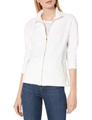 Pappagallo Women's Long Sleeve Zip Up Jacket