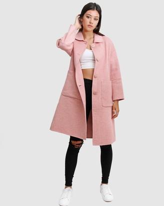 Belle & Bloom So Chic Wool Blend Coat