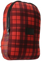 Marc by Marc Jacobs Mesh Plaid Packables Backpack (Red Multi) - Bags and Luggage