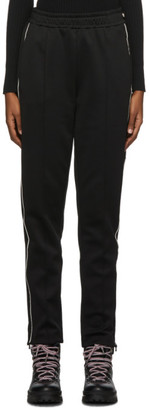 Moncler Black Contract Line Detail Lounge Pants