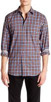 Bugatchi Plaid Long Sleeve Classic Fit Shirt