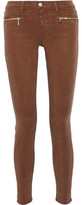J Brand Miranda Stretch-Twill Skinny Pants