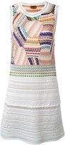 Missoni fitted patchwork dress - women - Silk/Cotton/Nylon/Wool - 42