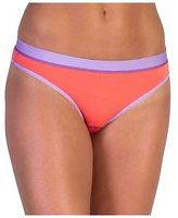Exofficio Give-N-Go Sport Mesh Thong - Women's Hot Coral M