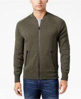 Barbour Men's Heathered Zip-Front Sweater