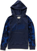 Lucky Brand Big Boys 8-20 Solid/Camouflage Long-Sleeve Hoodie
