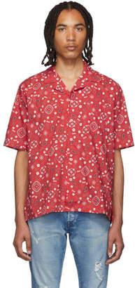 Rhude Red Bandana Hawaiian Shirt