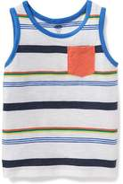 Old Navy Striped Pocket Tank for Toddler