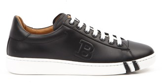 Bally Wivian Black Leather Sneakers