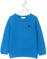 Burberry waffle knit jumper - kids - Cotton - 10 yrs