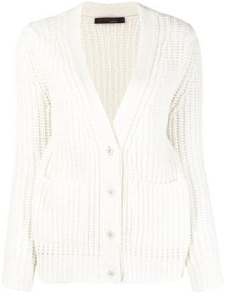 Incentive! Cashmere Ribbed Knit Cardigan