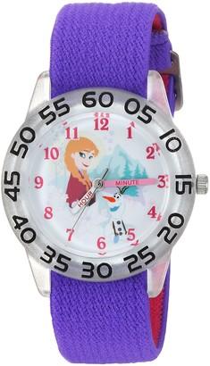 Disney Girls Frozen Olaf Analog-Quartz Watch with Nylon Strap